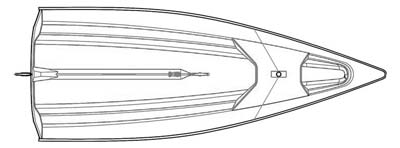 VX Evo Sailboat Plan Top